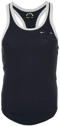 The Upside ribbed racer tank-top