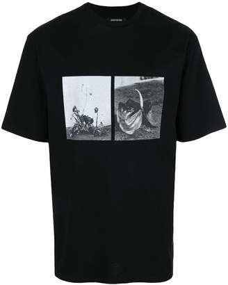 Christian Dada graphic print T-shirt