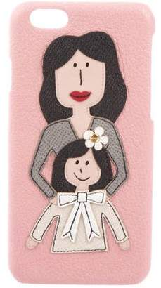 Dolce & Gabbana Mother and Daughter iPhone 6 Case w/ Tags