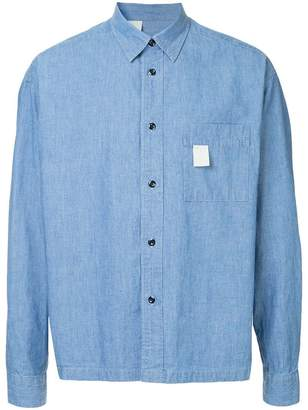 N. Hoolywood cropped denim shirt