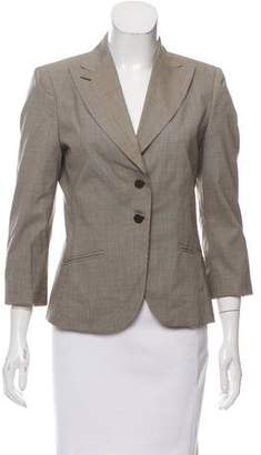 Bottega Veneta Structured Wool Blazer