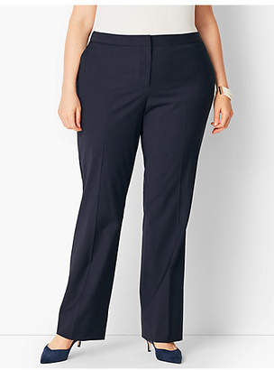 Talbots Seasonless Wool Barely Boot Trouser - Curvy Fit