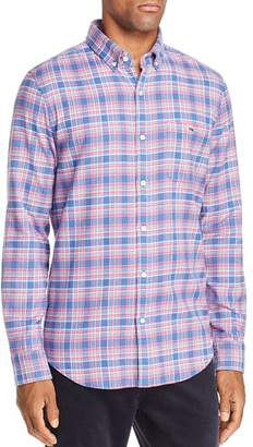 Vineyard Vines Lockwood Flannel Button-Down Shirt