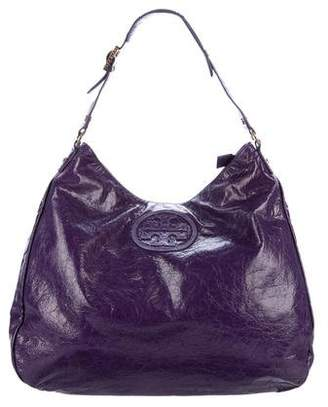 Tory Burch Distressed Leather Hobo