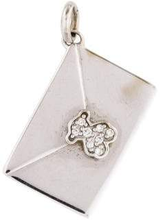 Tous 18K Diamond Envelope Charm
