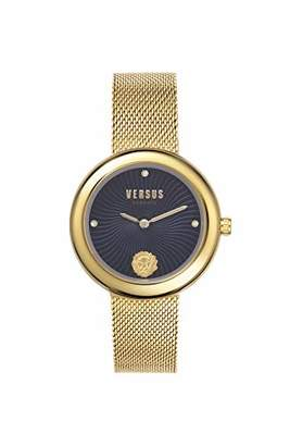 Versus By Versace Women's LEA Quartz Gold-Plated-Stainless-Steel Strap