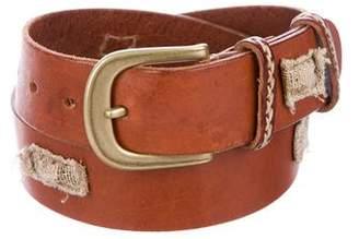 Henry Beguelin Leather Hip Belt