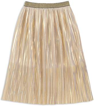 Kate Spade Girls' Pleated Iridescent Skirt
