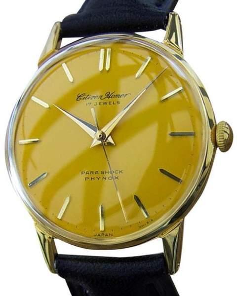 CitizenCitizen Homer Japanese Manual Dress Mens 1950s Watch