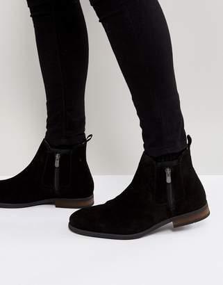 Call it SPRING Ocade Suede Zip Boots In Black