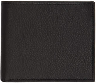 Maison Margiela Black Soft Grain Colorblock Wallet