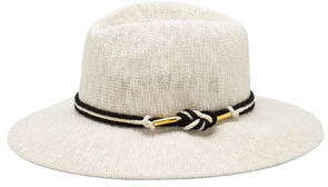 Vince Camuto Foldable Panama Hat