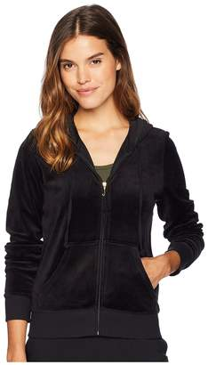 Juicy Couture Track Velour Gothic Crystals Robertson Jacket Women's Clothing