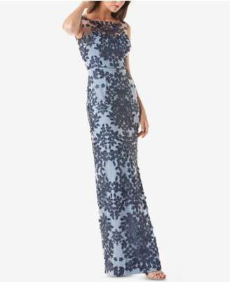 JS Collections Embroidered Gown
