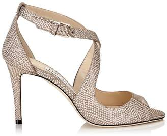 Jimmy Choo Emily 85 Leather Sandals