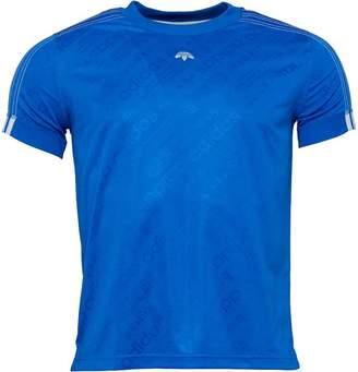 adidas x Alexander Wang Mens Soccer Jersey Bluebird
