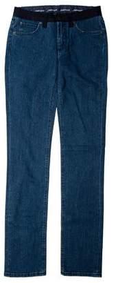 Lanvin Mid-Rise Straight-Leg Jeans