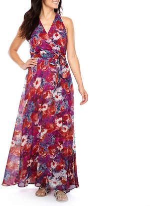 Chetta B BE BY Be by Sleeveless Floral Maxi Dress
