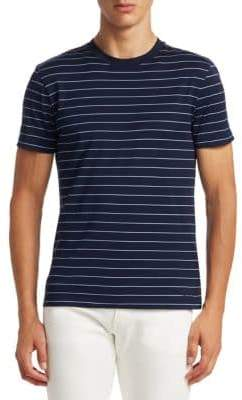 Ralph Lauren Purple Label Stripe Crewneck T-Shirt