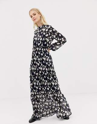 Vila floral maxi dress