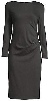 Max Mara Women's Gianni Side Ruched Sheath Dress