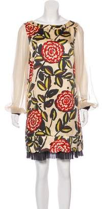 Tory Burch Floral Mini Dress