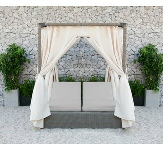 Darby Home Co Naperville Double Sun Lounger Set with Cushions Darby Home Co
