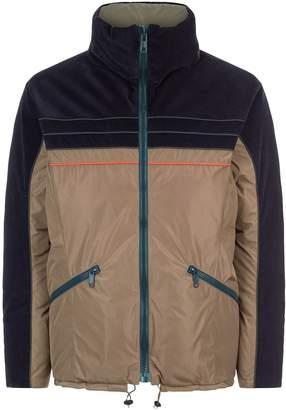 Kolor Cord Contrast Puffer Jacket