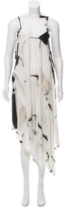 Ann Demeulemeester Printed Casual Dress