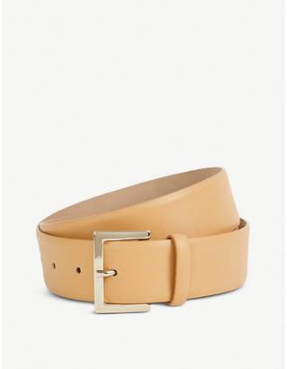 Max Mara Vata leather wrap-style leather belt