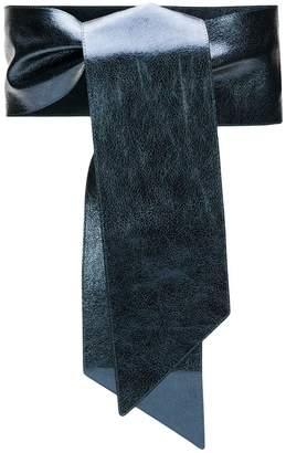 Orciani wrap tie belt
