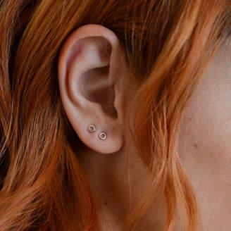 b136383a7 Buff Jewellery Classic Round Simple Disc Stud Earrings