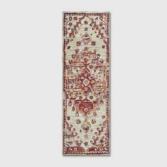 Threshold Hooked Persian Medallion Area Rug