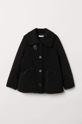 H&M Pile Jacket - Black