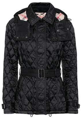 Burberry Shortfinsbridge quilted jacket