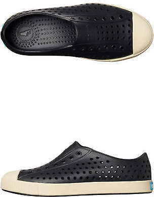 Native New Boys Kids Jefferson Shoe Rubber Black