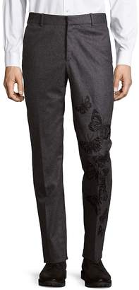 Jack Victor Men's Embroidered Wool Pants