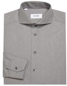 Eton Regular Fit Textured Dress Shirt