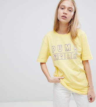 Puma Exclusive Oversized Organic Cotton Label T-Shirt