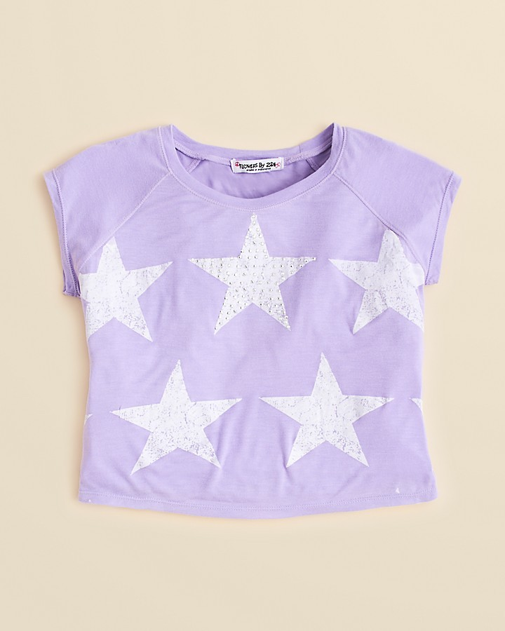 Flowers by Zoe Toddler Girls' Star Cropped Tee - Sizes 2T-4T