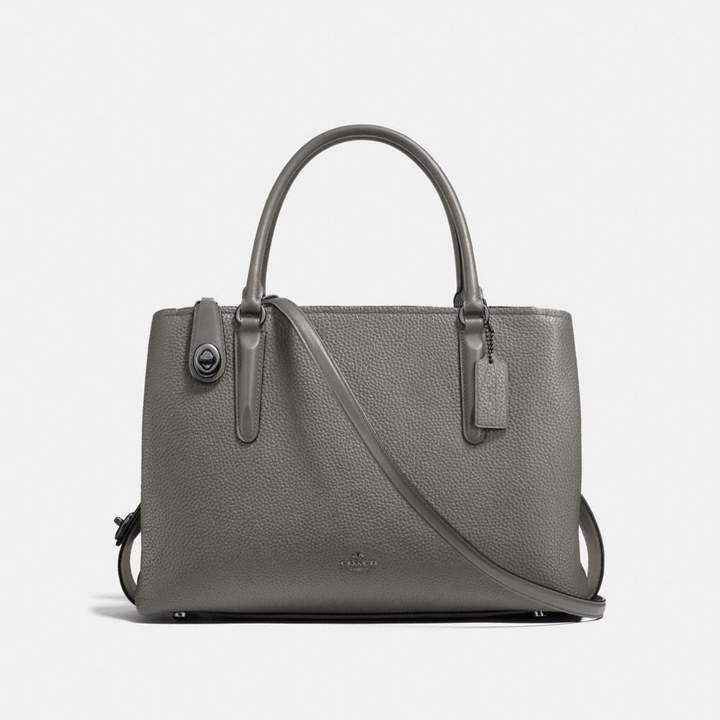 Coach New YorkCoach Brooklyn Carryall 34 - HEATHER GREY/DARK GUNMETAL - STYLE