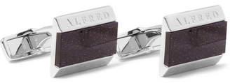 Dunhill Galaxy Silver Cufflinks - Men - Silver