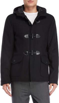 Gaudi' Gaudi Hooded Toggle Front Jacket