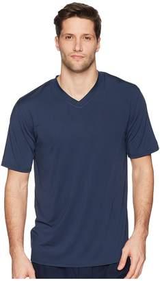 Jockey 92 Poly/8 Span Short Sleeve Sleep Crew Men's Short Sleeve Pullover