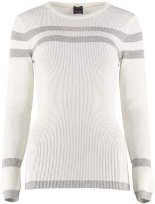 Pinko Benche Crew-neck Wool Sweater