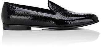 Giorgio Armani MEN'S PATENT LEATHER VENETIAN LOAFERS
