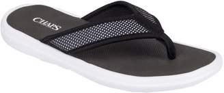 Chaps Men's Mesh Thong Sandals