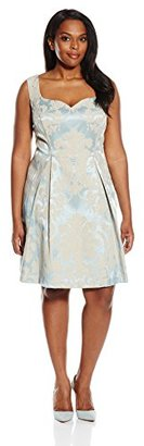 Single Dress Women's Plus Size Sweetheart Sleeveless $128.61 thestylecure.com