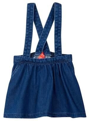 Joe Fresh Denim Dungaree Dress (Baby Girls)