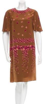 Maurizio Pecoraro Silk Dress